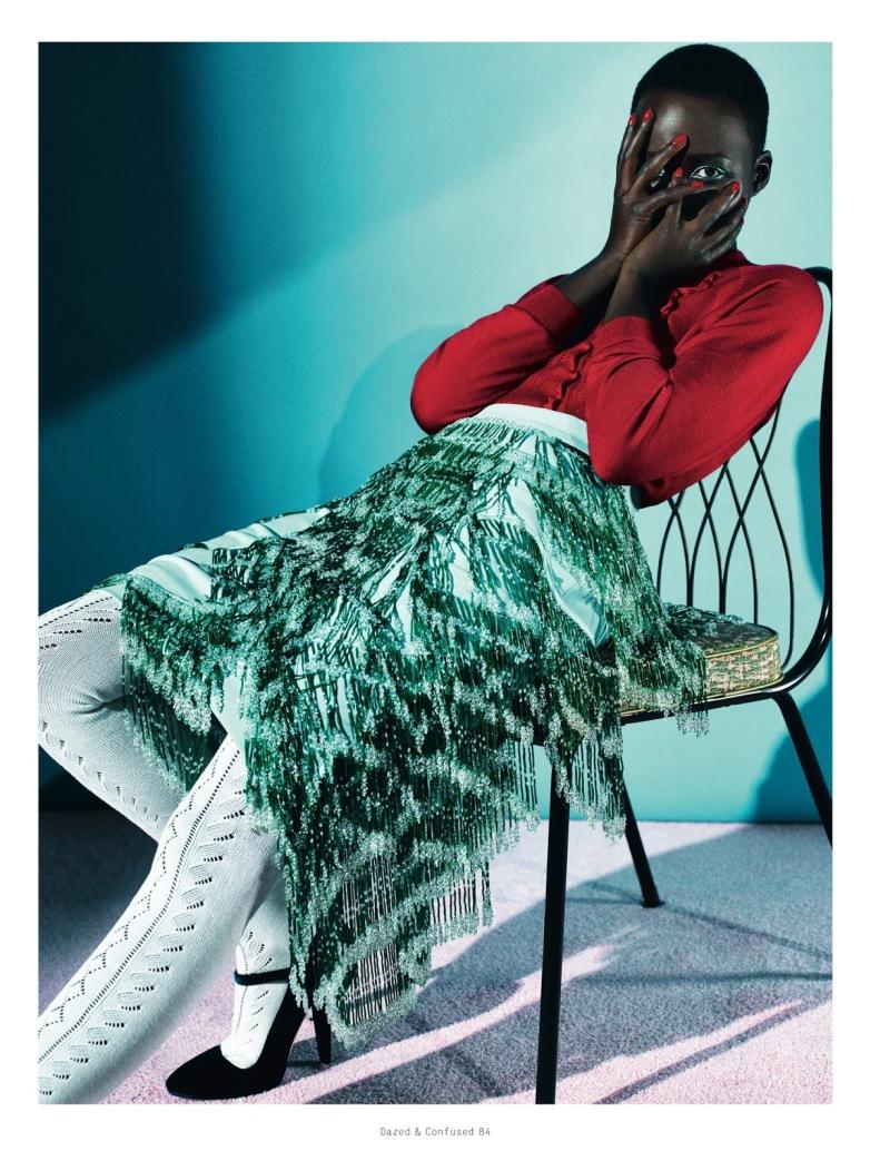 Lupita Nyong'o for Dazed & Confused February 2014