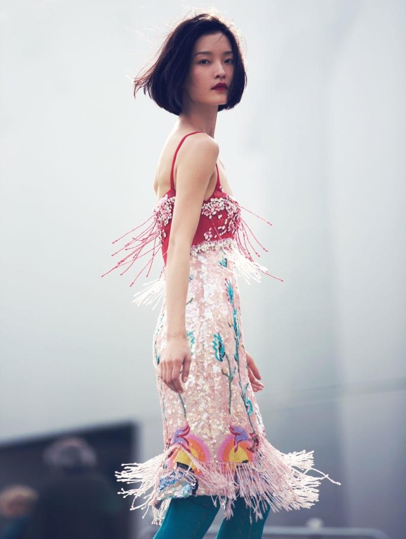 Du Juan for Vogue China February 2014