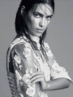 Irina Shayk for Vogue Mexico January 2014
