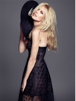 Claudia Schiffer for The Edit