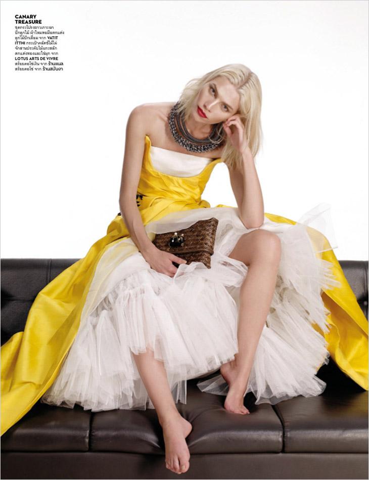 Aline Weber for Vogue Thailand February 2014