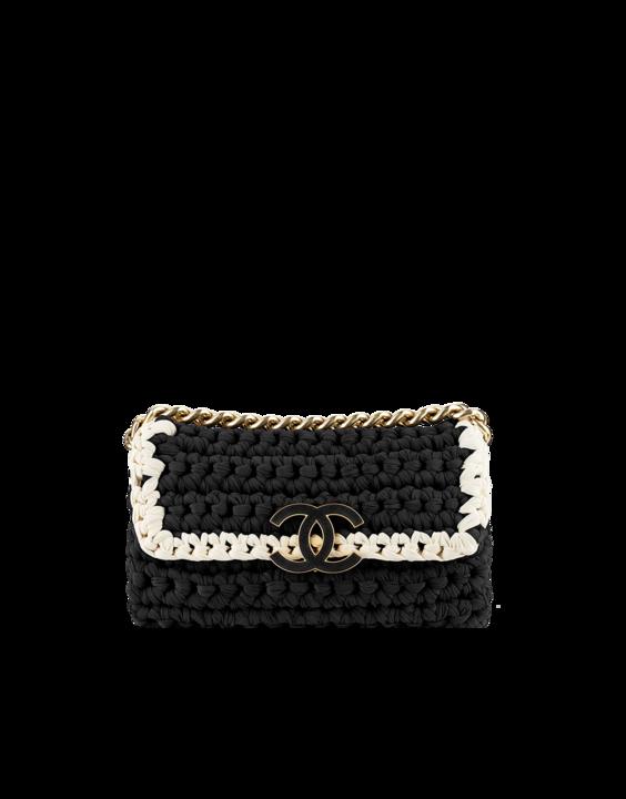 Crochet Flap Bag