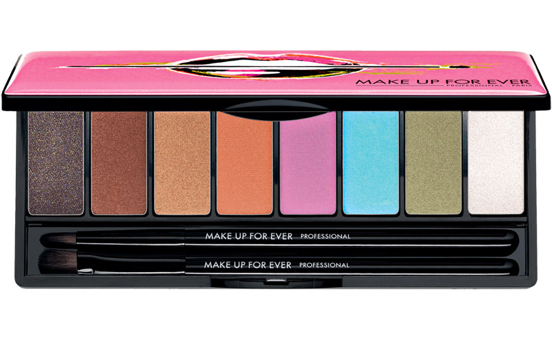 The New Arty Blossom Palette from Makeup Up For Ever