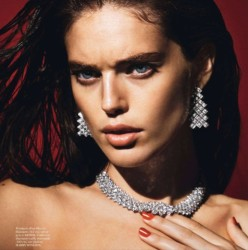 Emily DiDonato for Vogue Paris February 2014 - Emily A Fleur De Peau