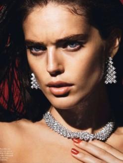 Emily DiDonato for Vogue Paris February 2014 - Emily A Fleur De Peau