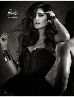 Actress Katrina Kaif for Vogue India December 2013