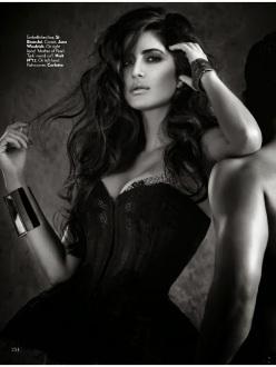 Actress Katrina Kaif for Vogue India December 2013