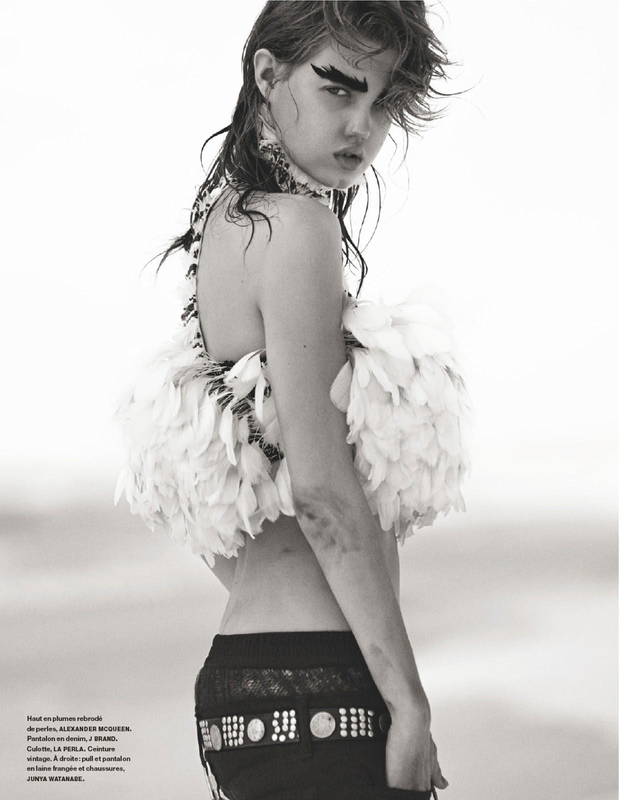 Lindsey Wixson for Numéro February 2014 - Cheyenne