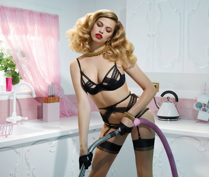 Agent Provocateur's Spring/Summer 2014 Look Book - Behind Closed Doors