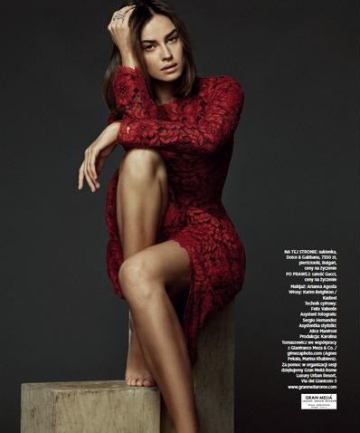 Kasia Smutnik for Harper's Bazaar Poland January 2014