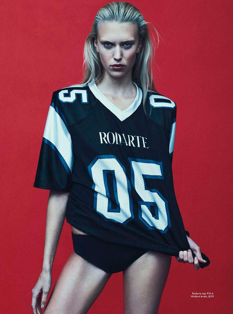 Juliana Schuring for Vogue Australia February 2014