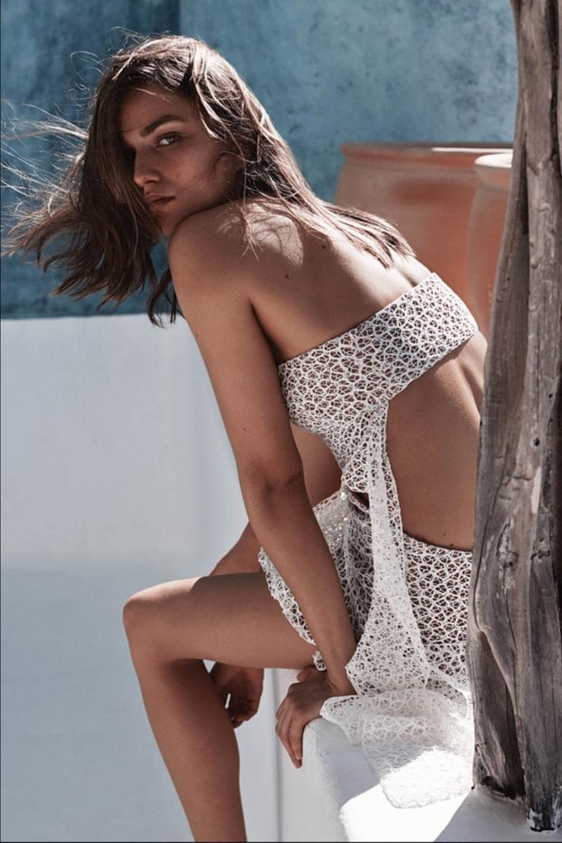 Andreea Diaconu for WSj Magazine February 2014 - Costa Careyes's Utopian View