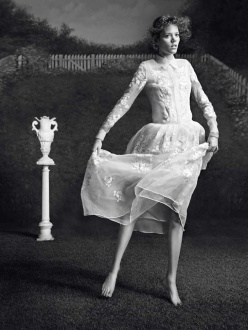 Freja Beha Erichsen for Vogue Paris February 2014
