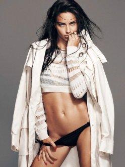 Adriana Lima for Harper's Bazaar Spain february 2014 - Pure Form