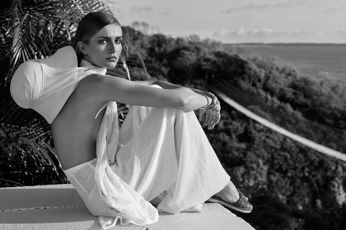 Andreea Diaconu for WSj Magazine February 2014