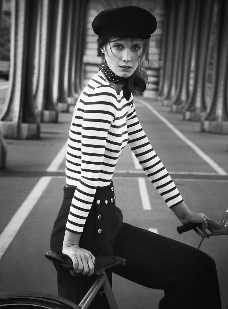 Drake Burnette for Vogue Australia February 2014 - French Made