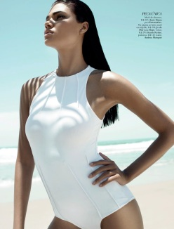 Daniela Braga for Harper's Bazaar Brazil January 2014