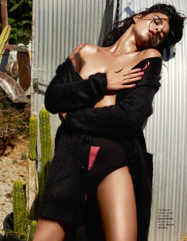Crystal Renn for Grazia France January 2014