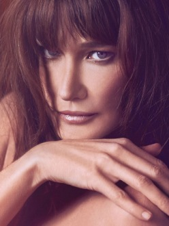Carla Bruni Sarkozy for The Edit by Net-A-Porter