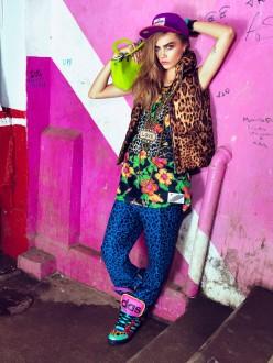 Cara Delevingne by Jacque Desqueker for Vogue Brazil February 2014