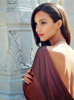 Lais Ribeiro for Gucci in Harper's Bazaar Arabia January 2014