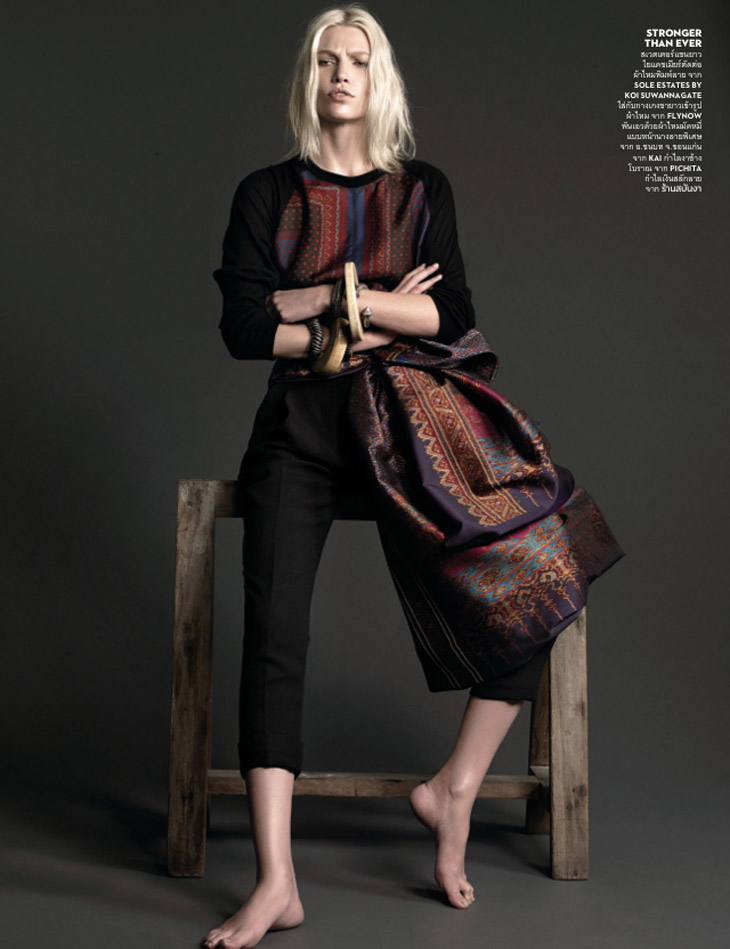 Aline Weber for Vogue Thailand February 2014