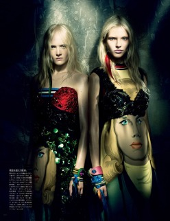 A Mystical Season - Vogue Japan March 2014 Issue