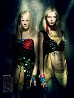 A Mystical Season - Vogue Japan March 2014 Issue