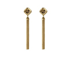 Emprise earrings in rose gold and amethyst, by Louis Vuitton Joaillerie