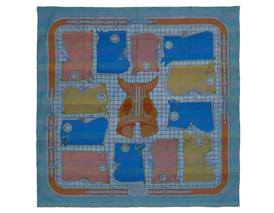 90 Kantha Camails medium silk scarf, Hermès, €830.