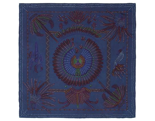 140 Brazil Bandhini large silk scarf, Hermès, €1,550.