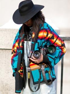 NY Fashion Week A/W 2014.15 Street Style