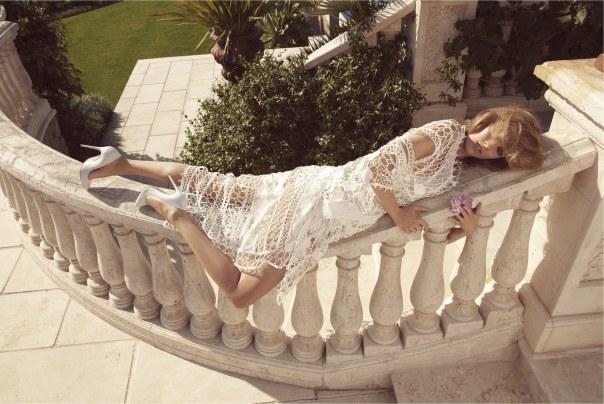 Julia Frauche for Porter Magazine Spring 2014 - The Ingénue