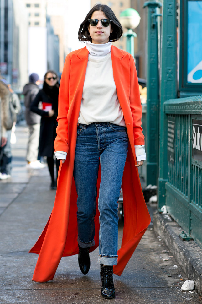 NY Fashion Week A/W 2014.15 Street Style