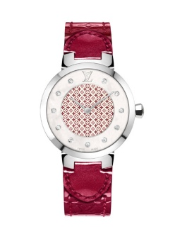 Louis Vuitton Montre Tambour Monogram Edition Saint-Valentin 2014