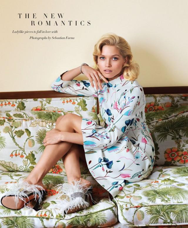 Hana Jirickova by Sebastian Faena for Harper's Bazaar March 2014 - The New Romantics
