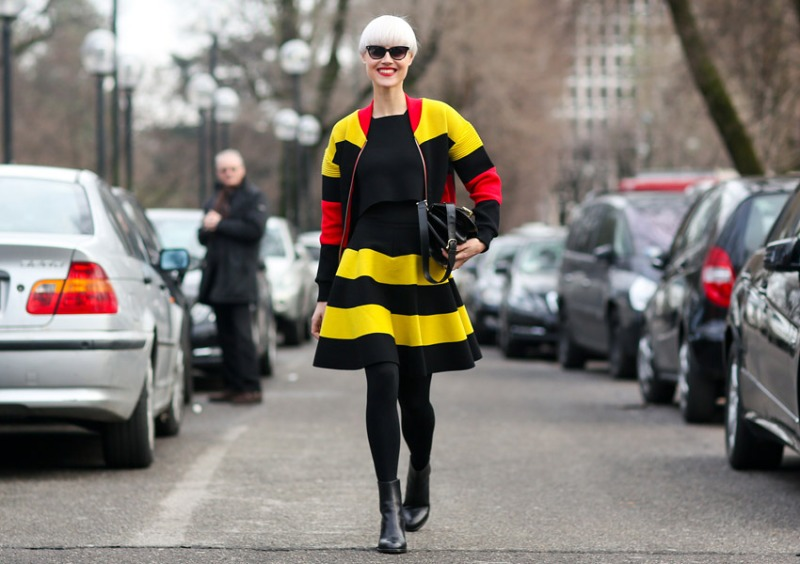 Street Style at Milan A/W 2014 Fashion Week
