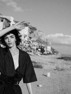 Mariacarla Bosconi by Peter Lindbergh for Vogue Italia February 2014