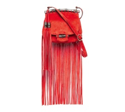 GUCCI New Bamboo bag in calf velvet and bamboo detail, 1650 euros