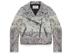 Mape leather jacket, Acne Studios x Liberty London