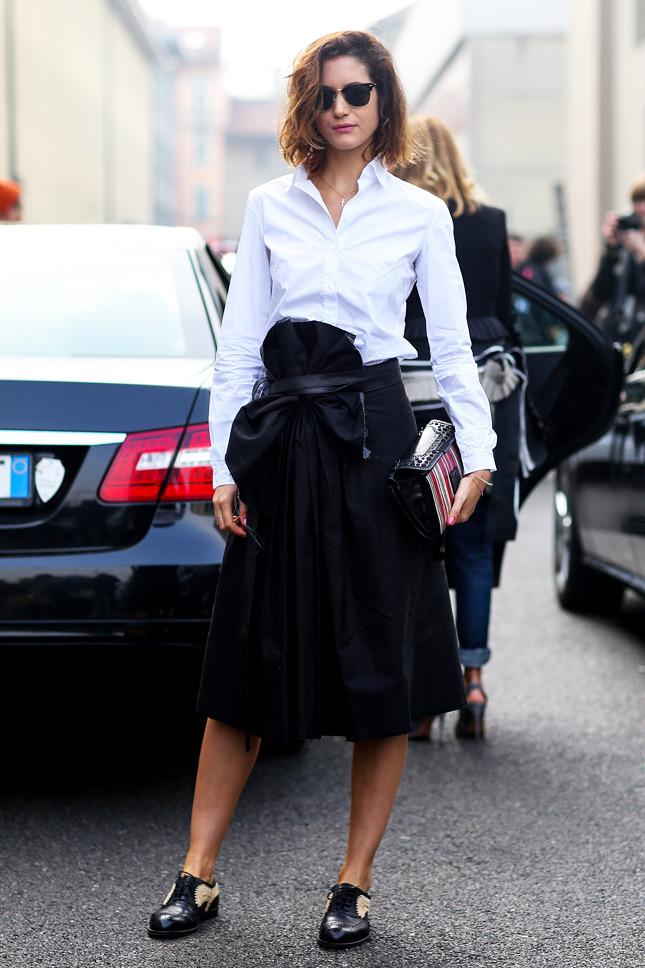 Street Style Milan Fashion Week Fall Winter 2014 2015 Day 4 The Wonderful World Of Fashion