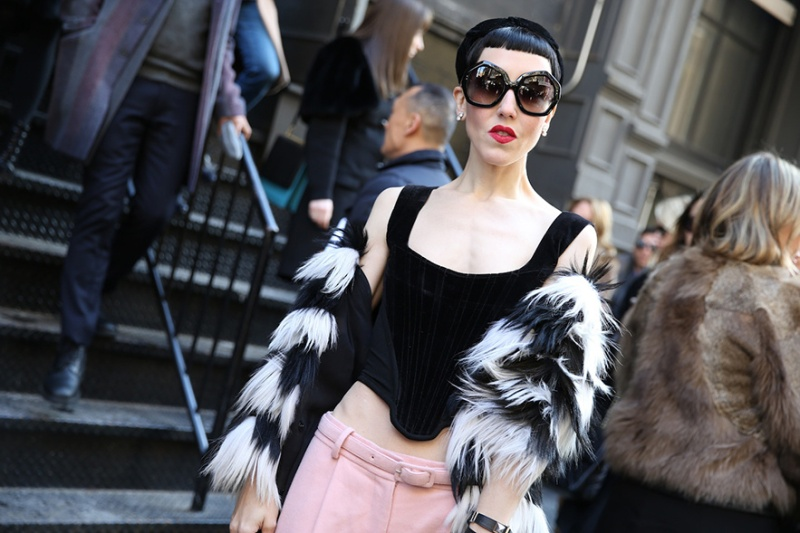 Street Looks at New York Fashion Week: Day 1