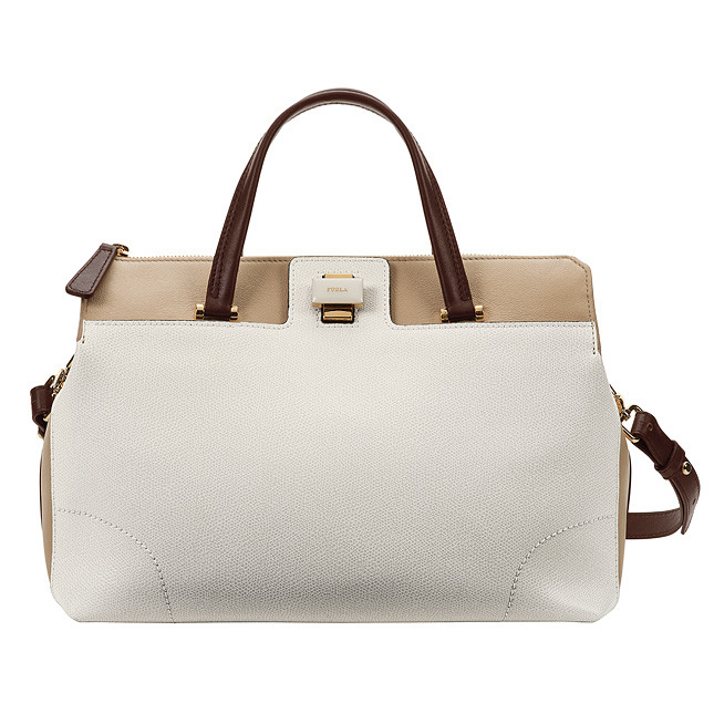 FURLA bag with short handles and shoulder strap