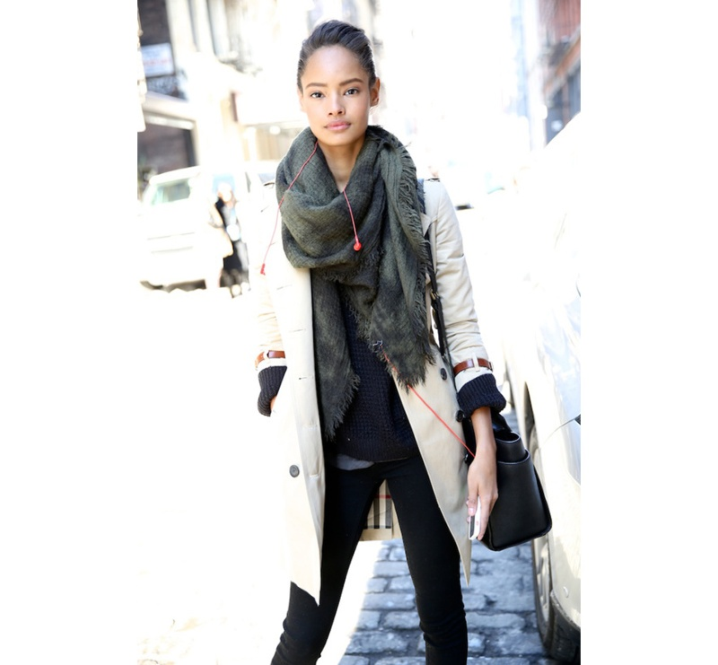 Street Looks at New York Fashion Week: Day 1, Malaika Firth