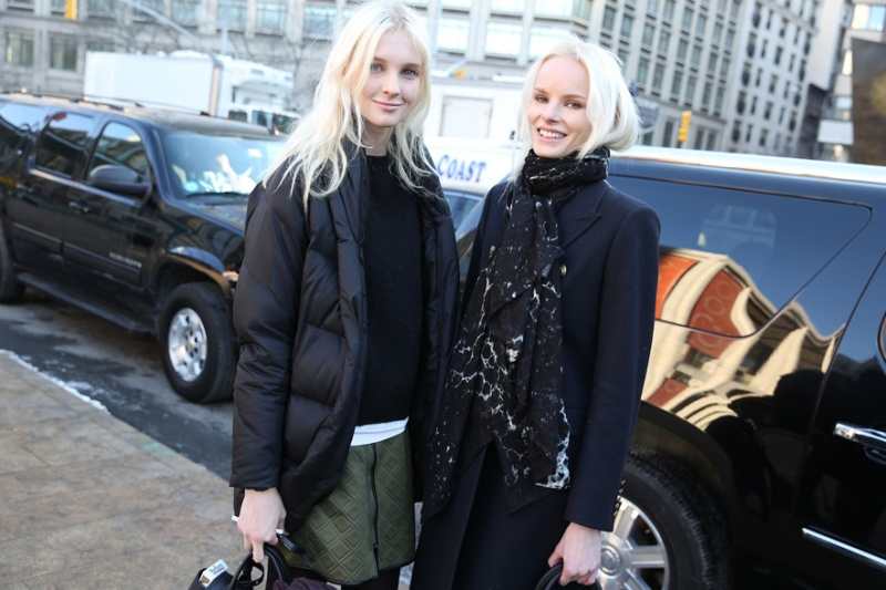 Street Looks at New York Fashion Week: Day 3