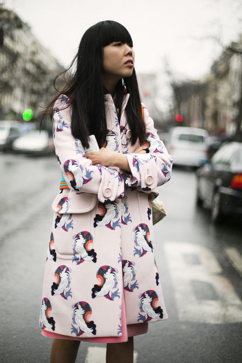 Susie Bubble - Miu Miu coat