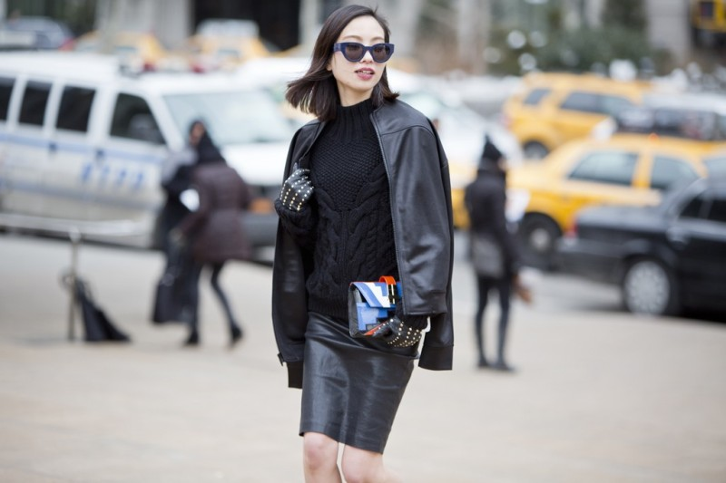 New York Street Style A/W 2014.15