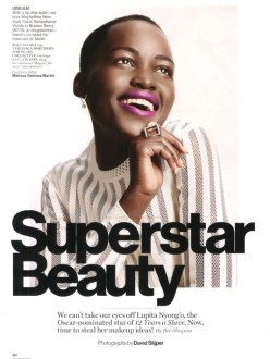 Lupita Nyong'o for Glamour March 2014