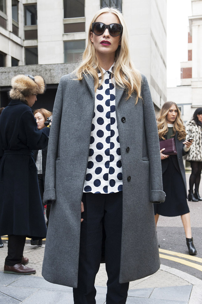 Street Style at London A/W 2014 Fashion Week