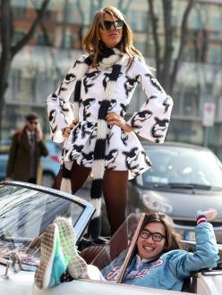 Street Style at Milan A/W 2014 Fashion Week (part 3)